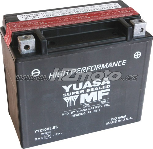 Motobaterie Yuasa YTX24HL-BS 12V 21Ah