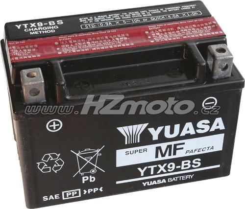 Motobaterie Yuasa YTX9-BS 12V 8Ah