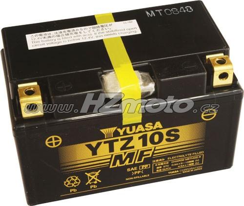 Motobaterie Yuasa YTZ10S 12V 8,6Ah