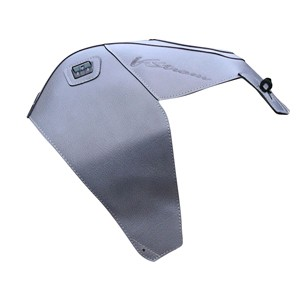 Bagster potah nádrže V-strom 650, 1000 1442K Steel Gray - DL650