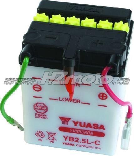 Motobaterie Yuasa YB2,5L-C 12V 2,5Ah