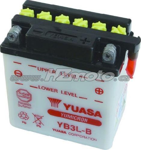Motobaterie Yuasa YB3L-B 12V 3Ah