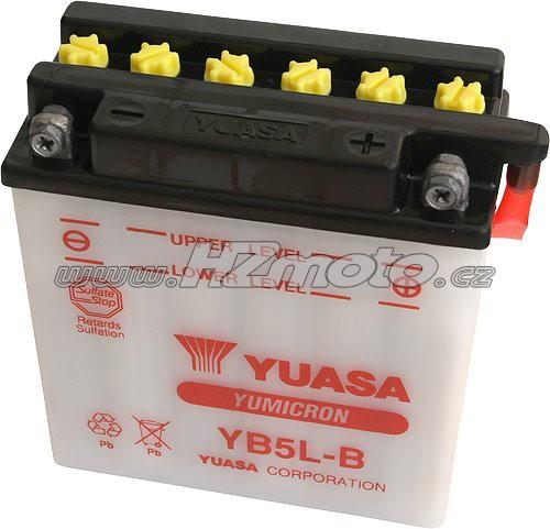 Motobaterie Yuasa YB5L-B 12V 5Ah