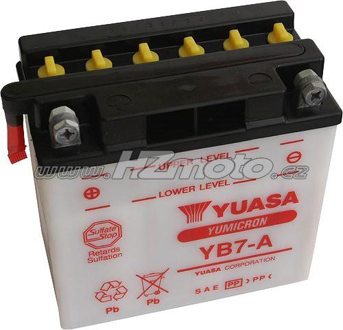 Motobaterie Yuasa YB7-A 12V 8Ah