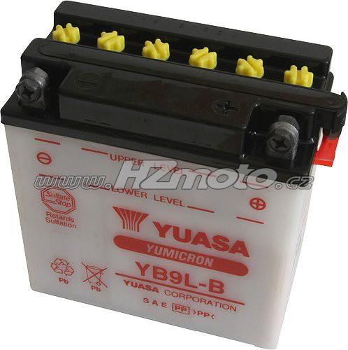 Motobaterie Yuasa YB9L-B 12V 9Ah
