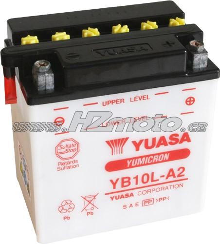 Motobaterie Yuasa YB10L-A2 12V 12Ah