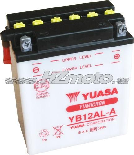 Motobaterie Yuasa YB12AL-A 12V 12Ah