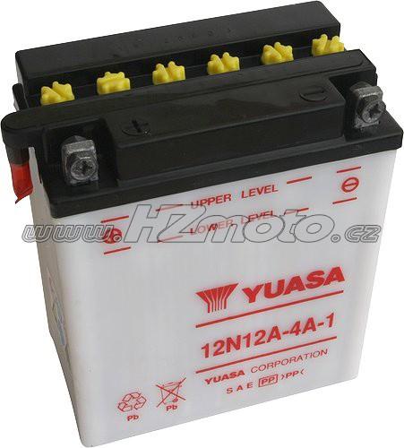 Motobaterie Yuasa 12N12A-4A-1 12V 12Ah