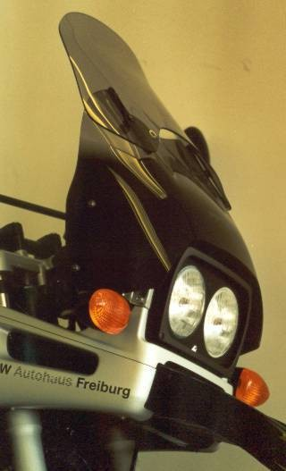 BMW R 1100 GS (94-99) - MRA plexi vario-screen kouřové