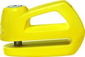 Abus Element 290 žlutý - zámek na kotoučovou brzdu