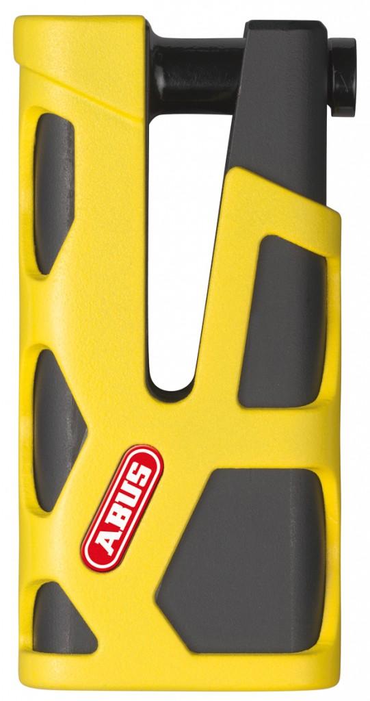 Abus Granit Sledg 77 Web yellow - zámek na kotoučovou brzdu