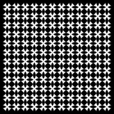 Bavlněný šátek - Maltézský kříž