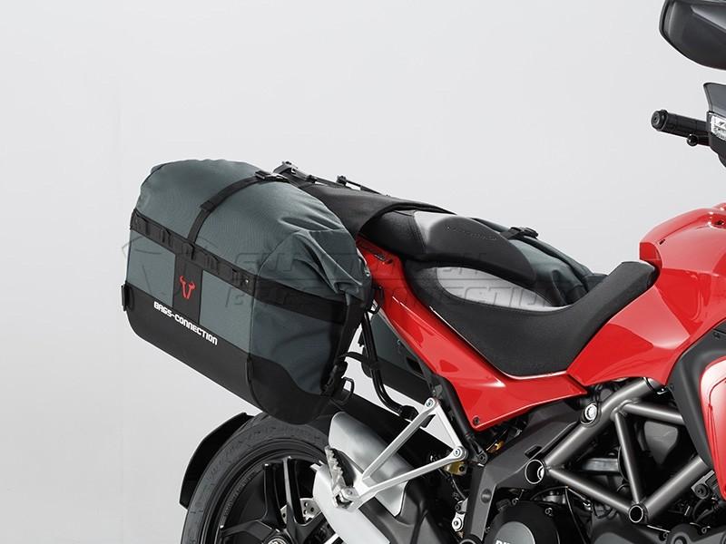 Ducati Multistrada 1200 /S(10-14) - sada tašek Dakar a držáků SW
