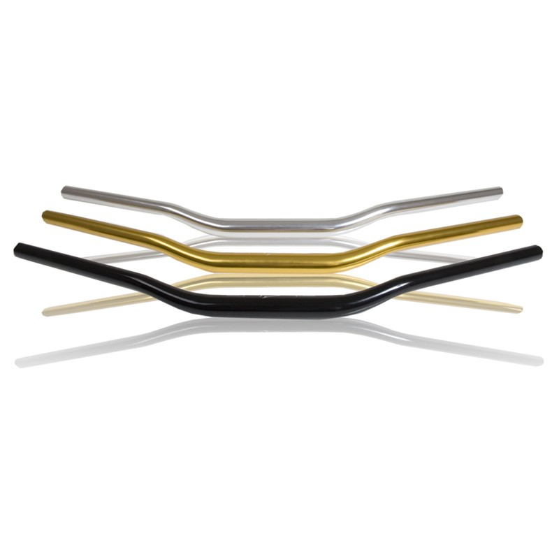 Duralová řídítka černá 740 mm s variabilním průměrem (28/22) Bar