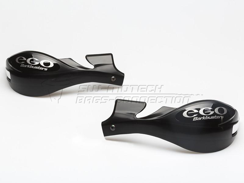 Chrániče páček Barkbusters EGO, pouze plasty, černé