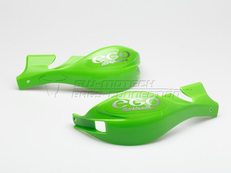 Chrániče páček Barkbusters EGO, pouze plasty, zelené