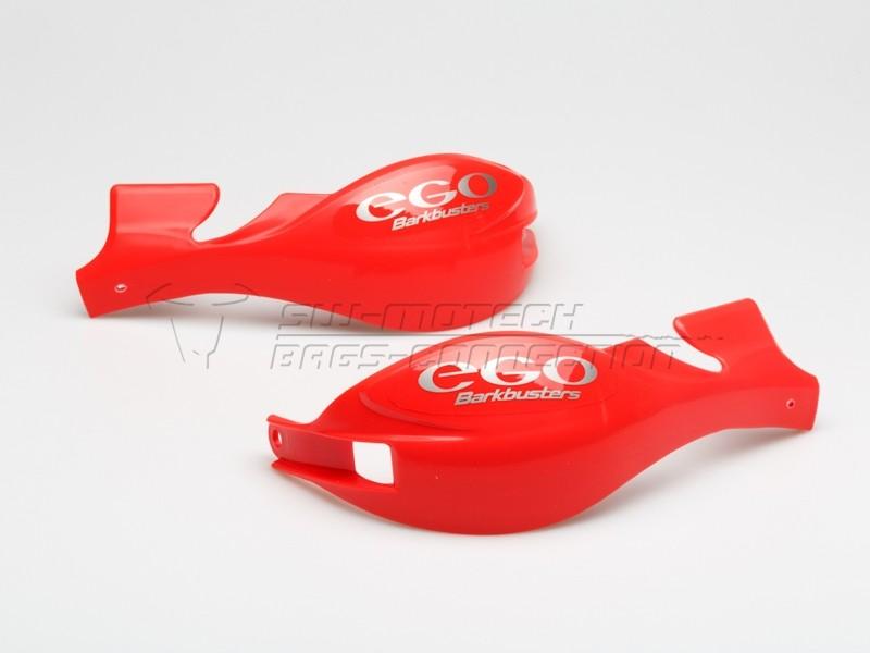 Chrániče páček Barkbusters EGO, pouze plasty, červené
