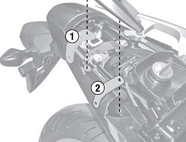 Honda Integra 700 (12-) kit pro samostatnou montáž bočních nosič