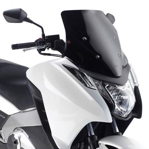 Honda Integra 700 (12-) plexi černé sportovní Givi D1109B