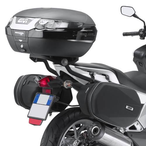 Honda Integra 700 (12-) trubkový držák bočních brašen EASYLOCK G