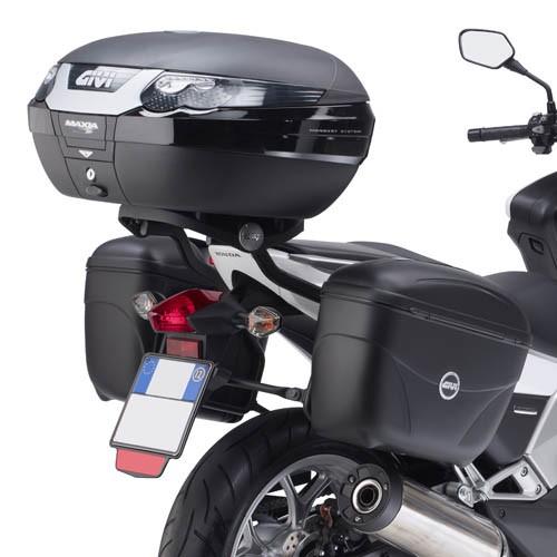 Honda Integra 700 (12-) trubkový nosič kufrů Givi PL1109