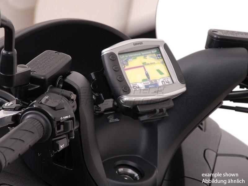 Honda SW-T 400 (09-) - QUICK-LOCK GPS držák, SW-Motech
