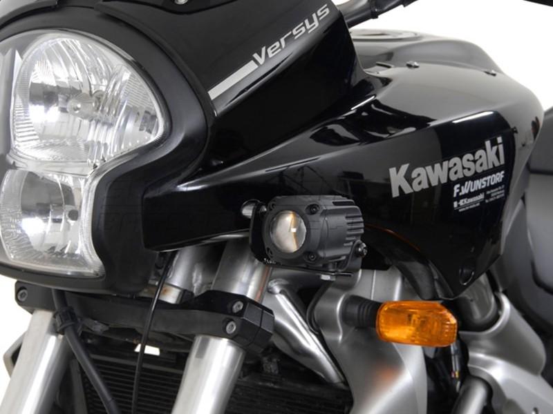 Kawasaki Versys 650 (-09) - držák přídavných světel SW-Motech