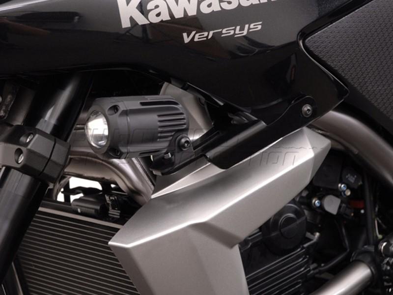 Kawasaki Versys 650 (10-) - držák přídavných světel SW-Motech