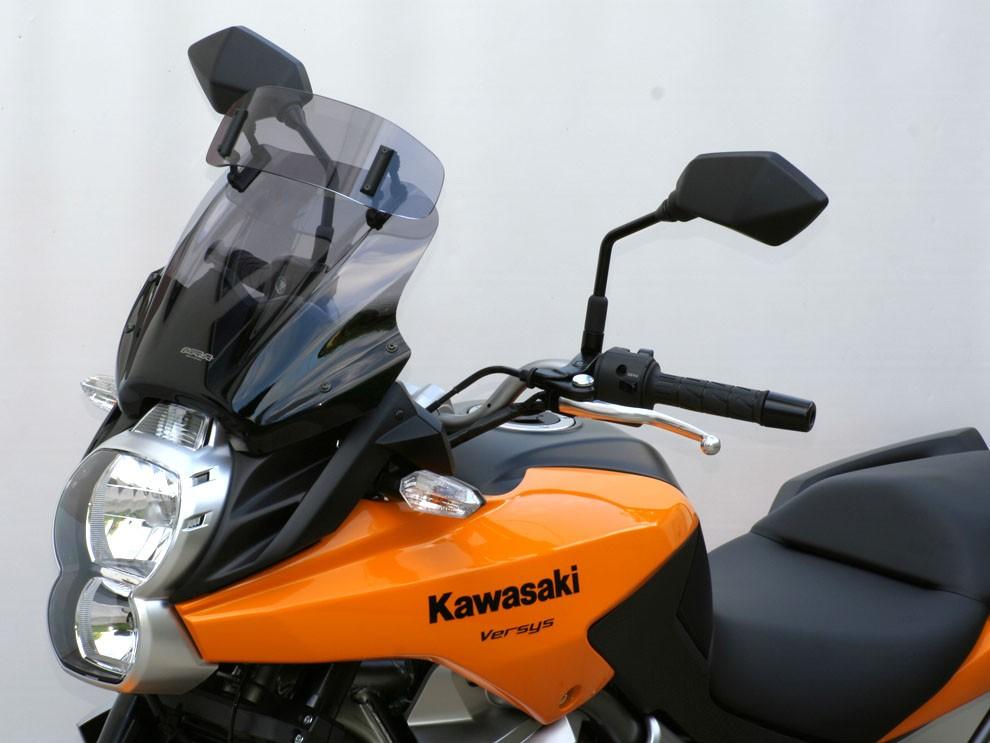 "Kawasaki Versys 650 (10-) MRA plexi vario-touring ""VTM"""