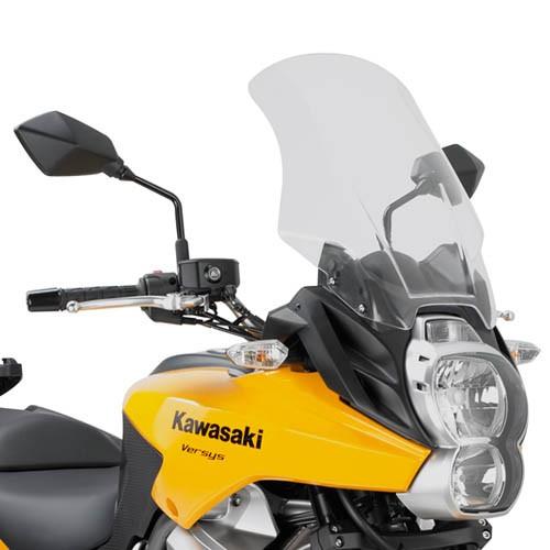 Kawasaki Versys 650 (10-) plexi čiré Givi D410ST
