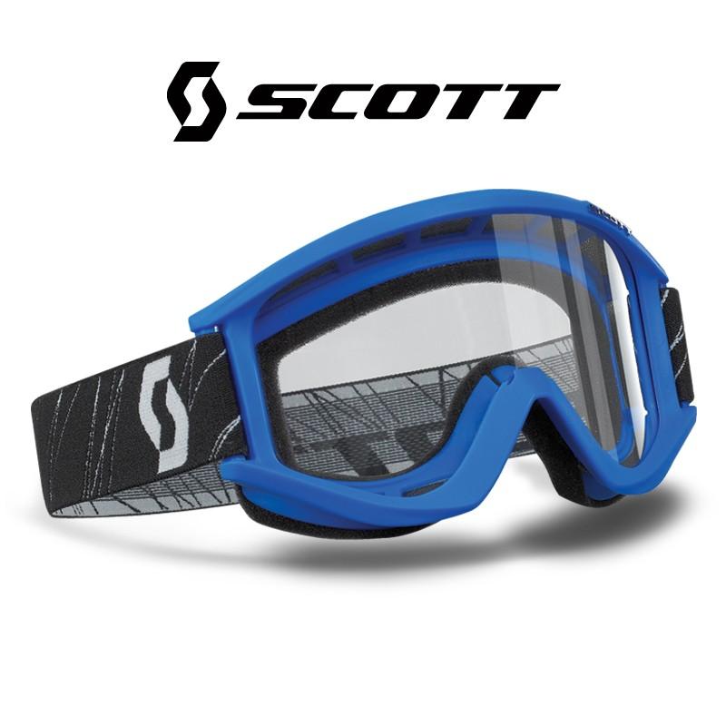 Motokrosové brýle SCOTT RECOILXI modré , čiré sklo