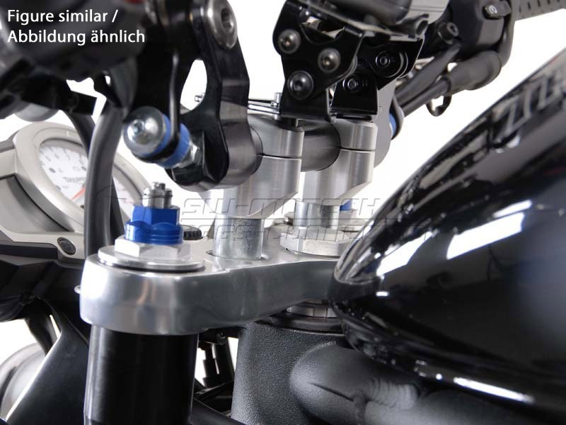 Triumph Speed Triple 1050 (06-10) Redukce řídítek z 22/28 mm, če