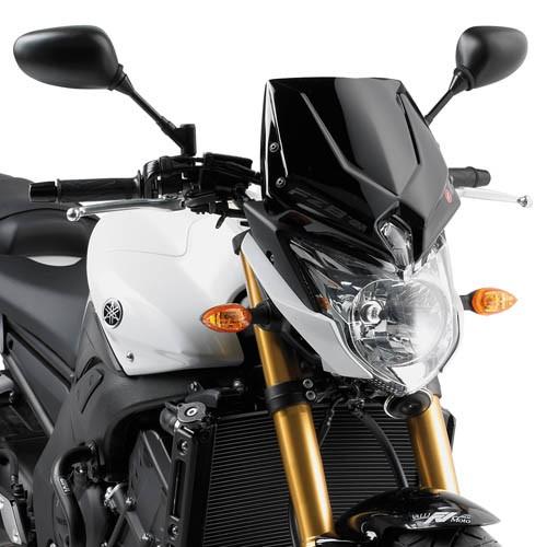 Yamaha FZ8 (10-) - černé plexi Givi A287N