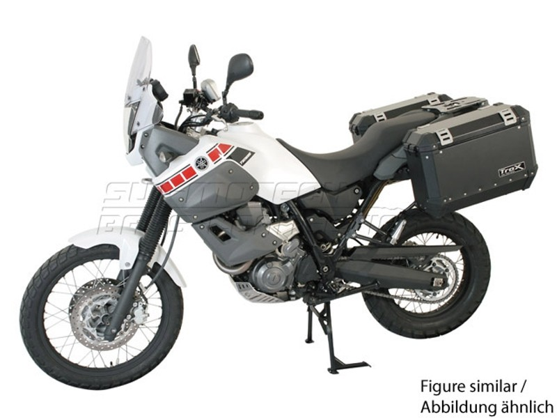 Yamaha XT 660 Z Tenere (07-) - kompletní sada kufrů 37lit., nosi