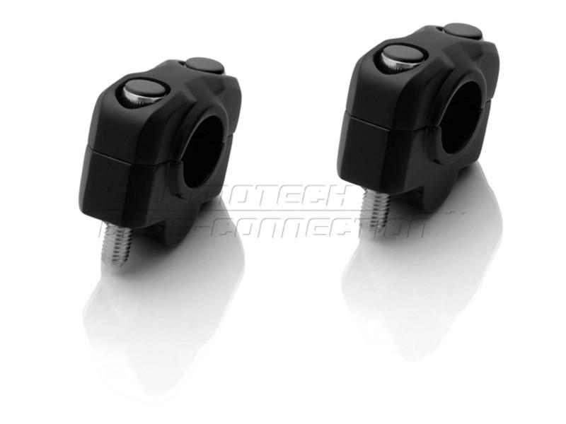 Zvýšení řidítek o 20 mm, pro řídítka Ø 22 mm, černé, SW-Motech