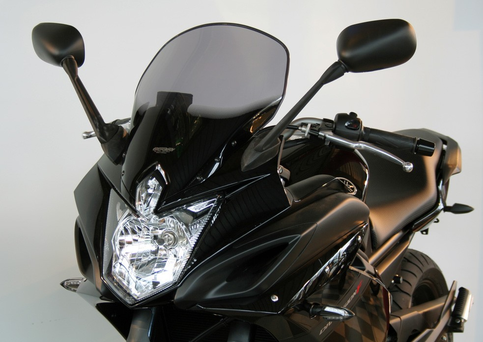 Yamaha FZ6 R (10-) MRA plexi Touring, kouřové