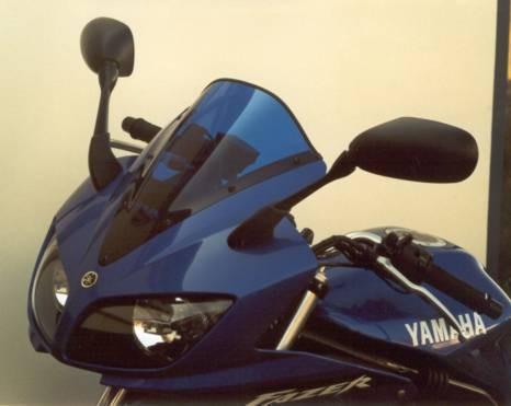 Yamaha FZS 600 Fazer (02-03) - MRA kouřové plexi racing
