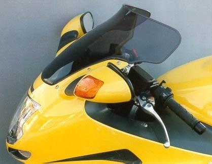 Honda CBR 1100 XX (97-07) - MRA čiré plexi spoiler