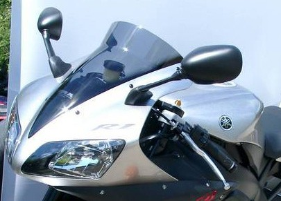 Yamaha R1 (02-03) - kouřové MRA plexi touring