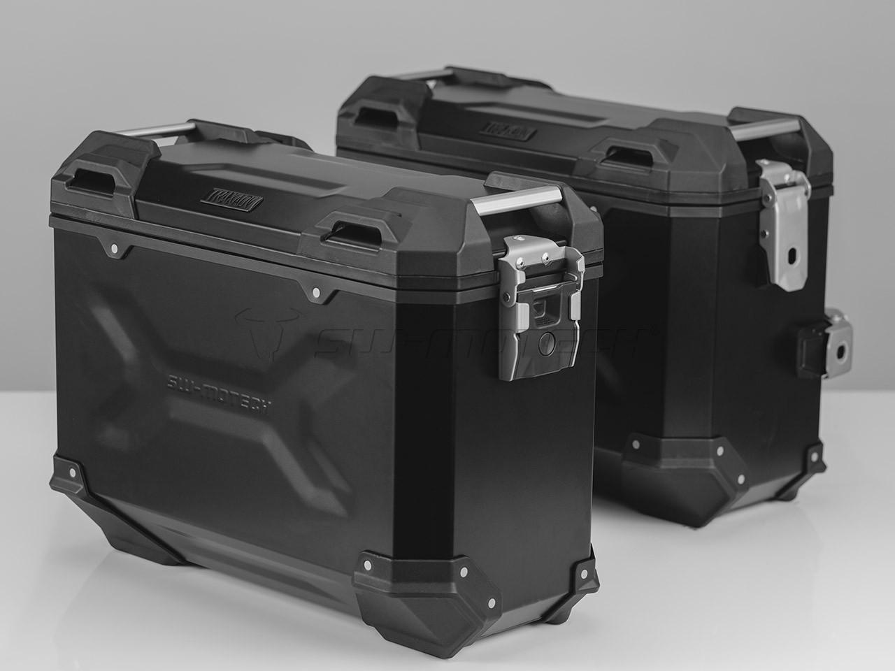 Honda CB 500 F (16-) - sada bočních kufrů TRAX Adventure 37 l. s