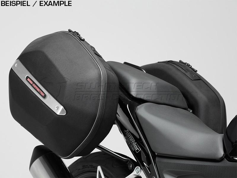 Honda CB 500 F (13-15) - kompletní sada AERO kufrů 25l, nosič, a
