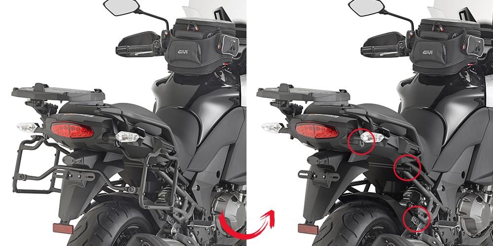 Kawasaki Versys 1000 (15-) - nosič bočních kufrů Givi PLR4113