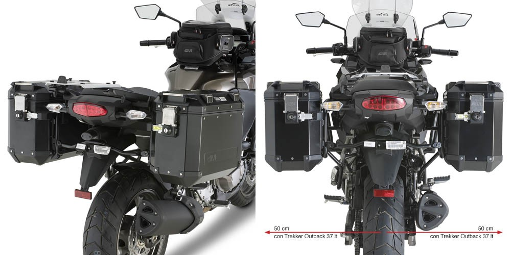 Kawasaki Versys 1000 (12-14) - nosič bočních hliníkových kufrů,