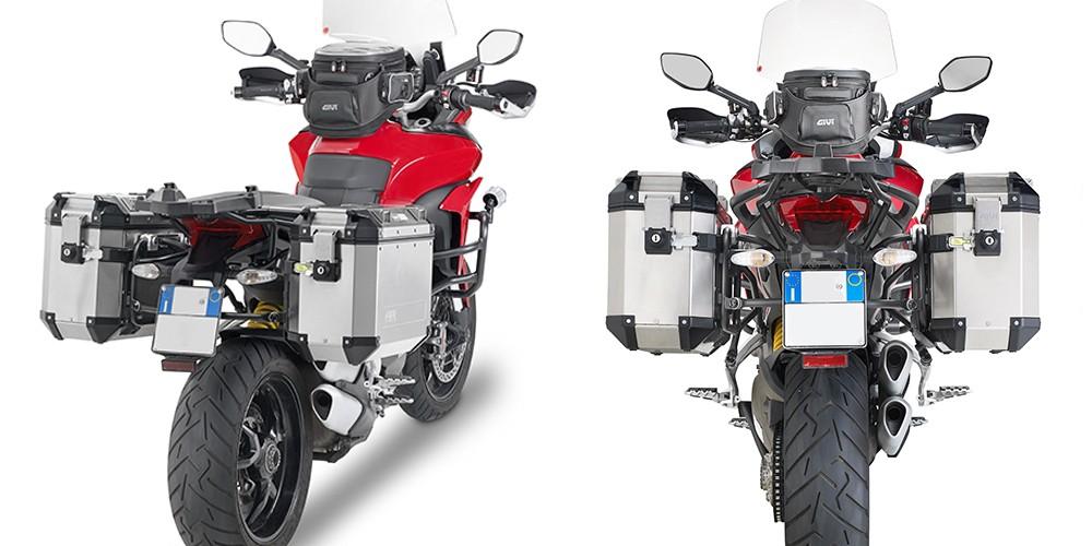 f37aea6ed8e68 Ducati Multistrada 1200 (15-) - nosič bočních kufrů Givi Trekker
