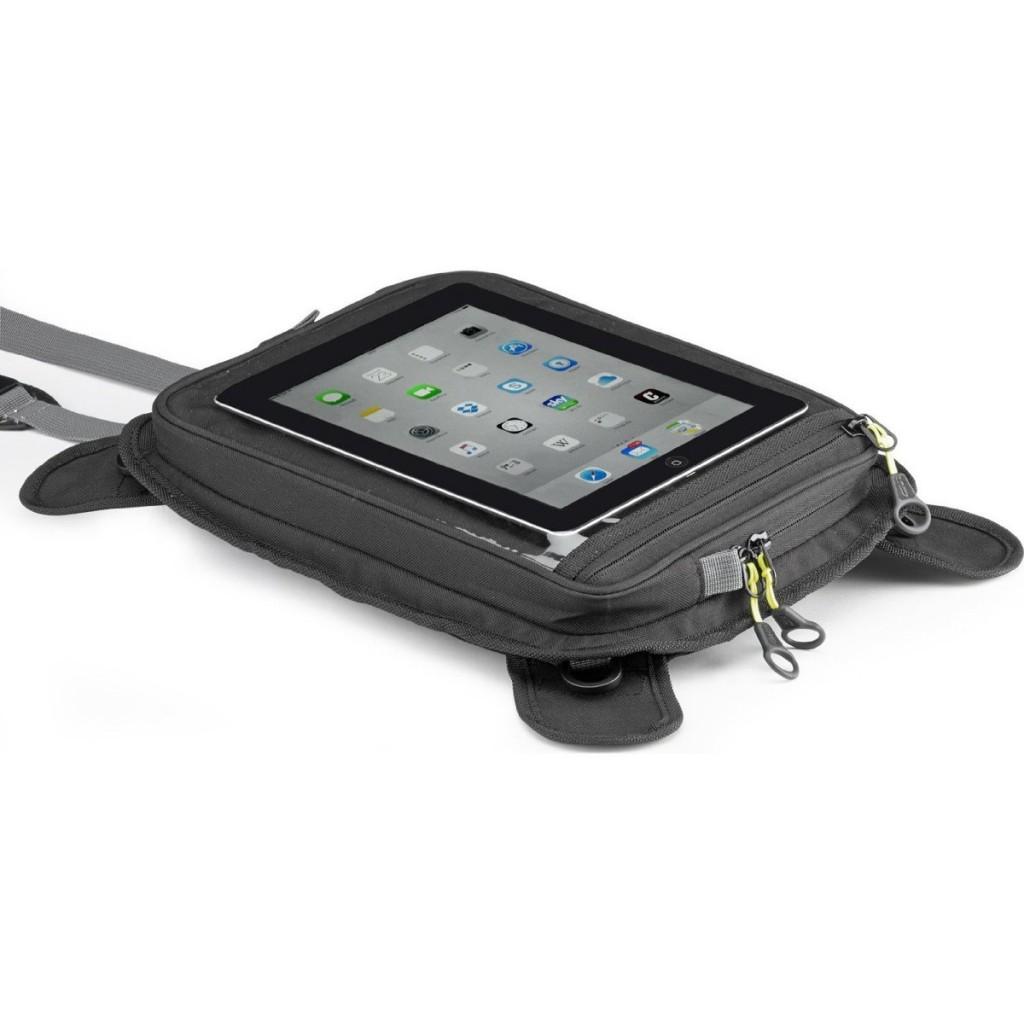 """Givi EA112B magnetický držák pro tablet 10"""" nebo mapu, černý"""