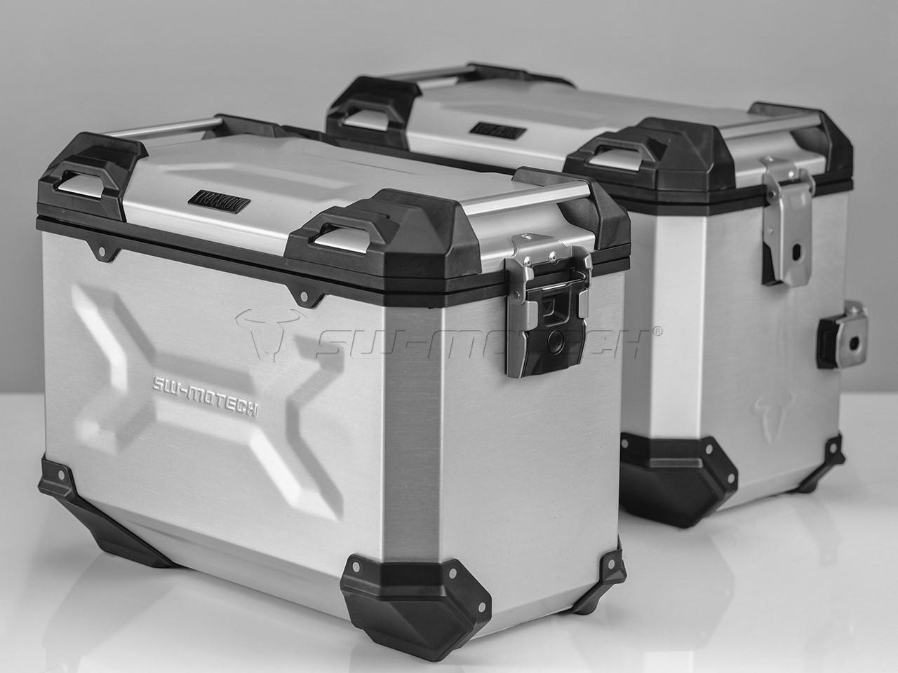 Honda CB 500 F (16-) - sada bočních kufrů TRAX Adventure 45 l. s
