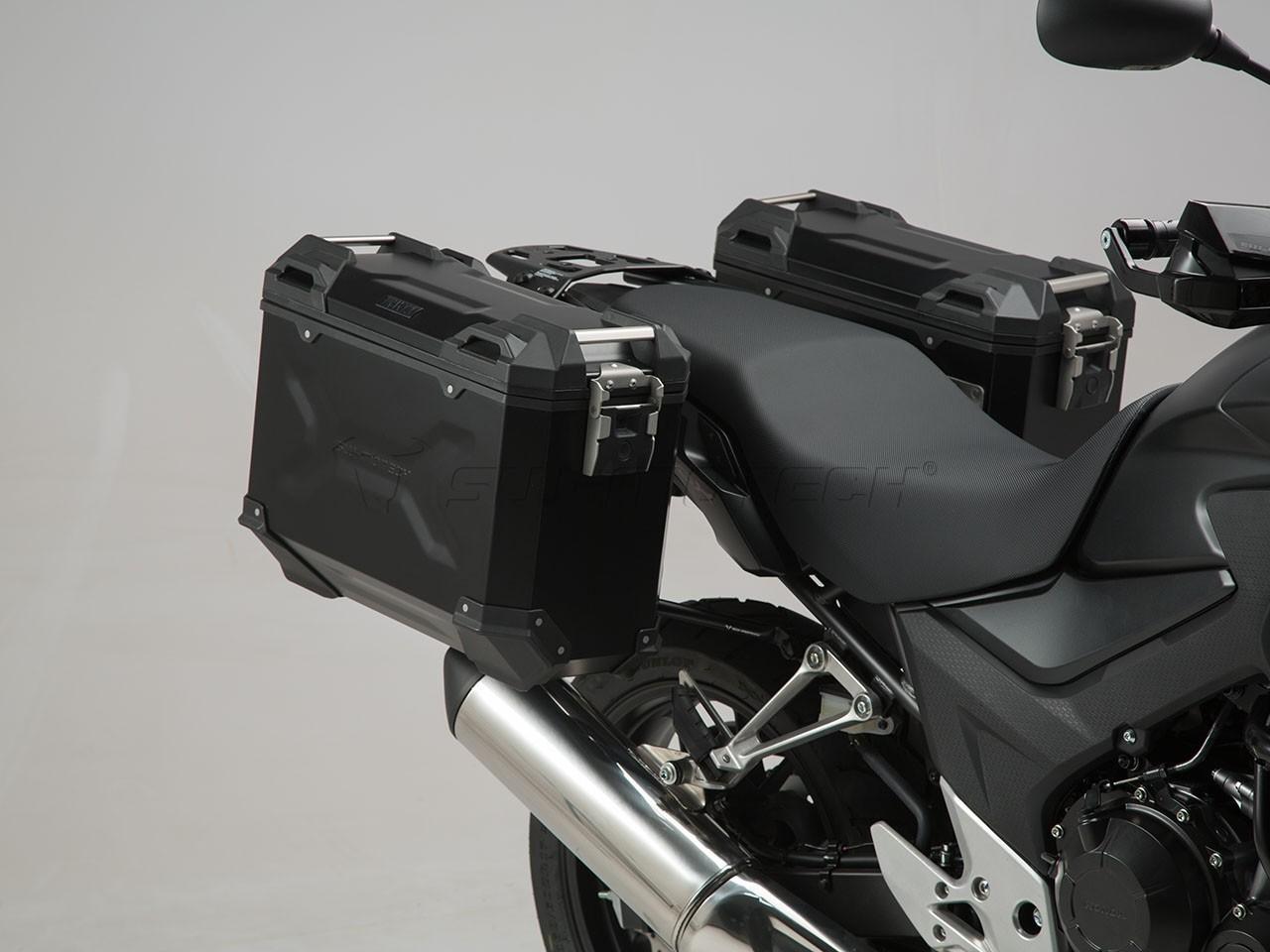 Honda CB 500 F (13-15) - sada bočních kufrů TRAX Adventure 37 l.