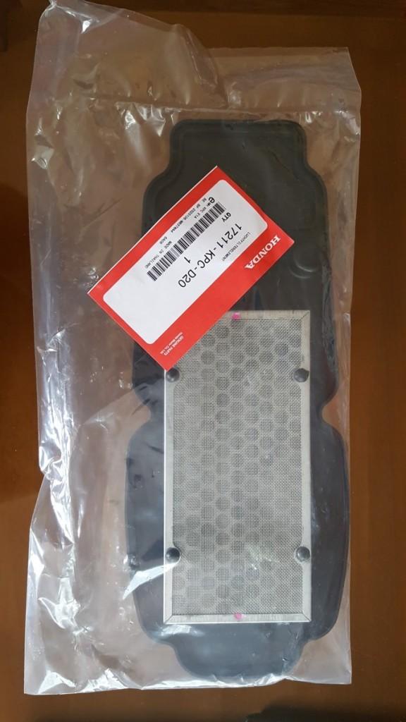 Honda XL 125 V Varadero (01-06) filtr vzduchový , originální díl