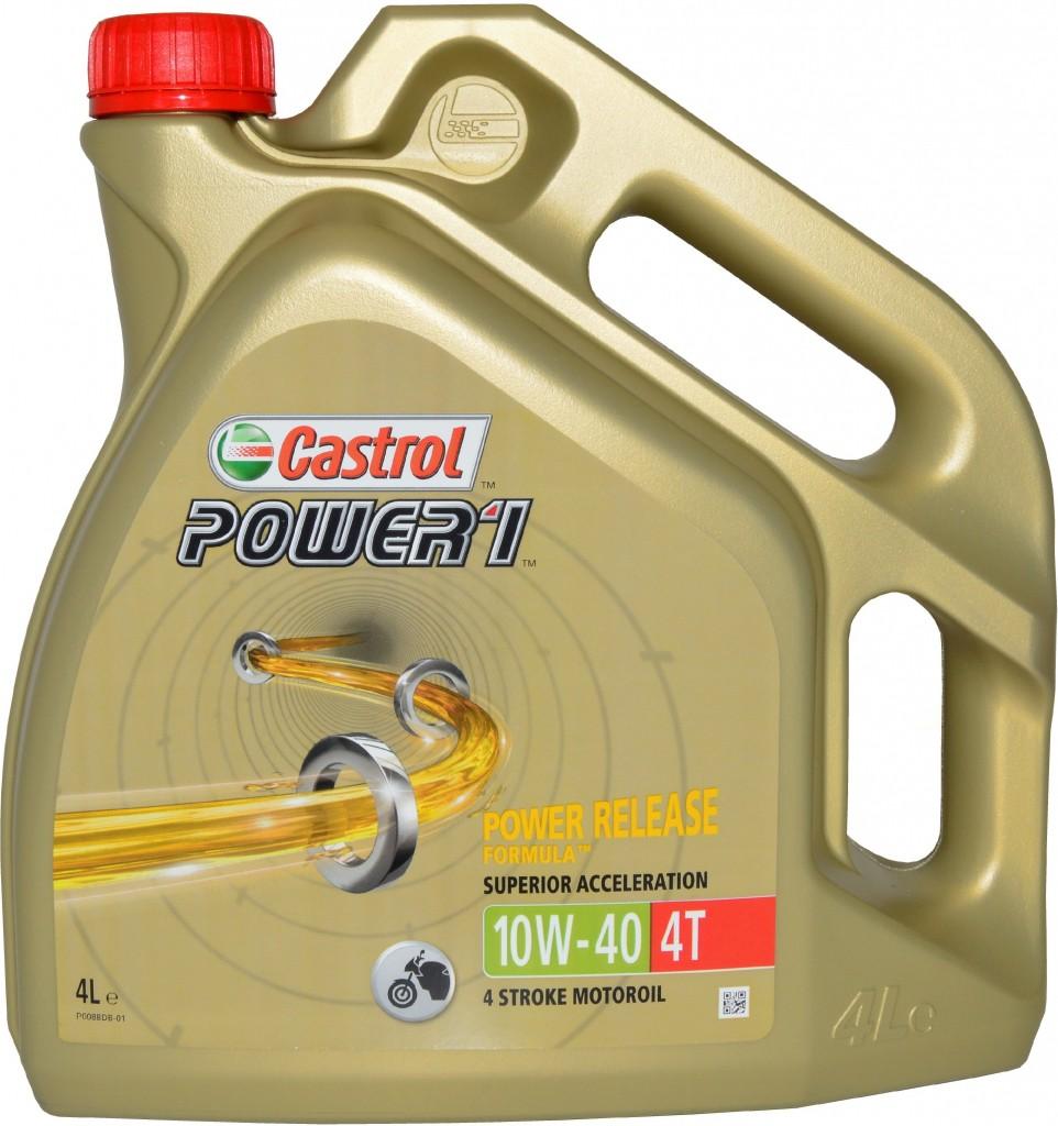 Castrol Power 1 10W40 4T 4 ltr.