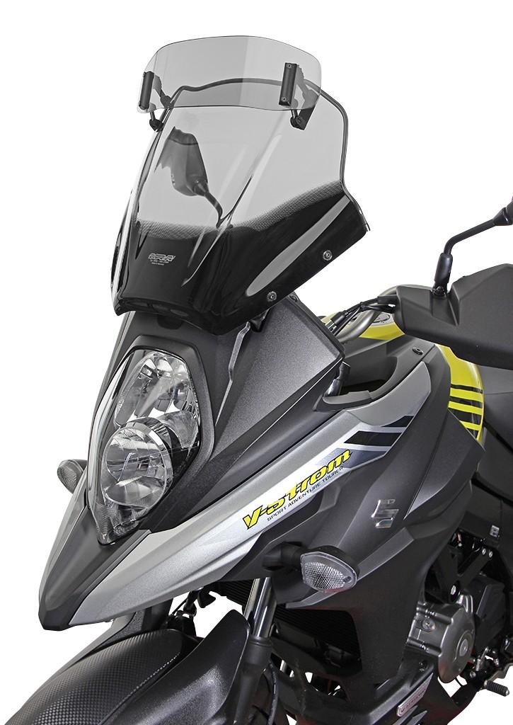 Suzuki V-Strom 650 / XT (17-) - Variotouring plexi MRA, kouřové